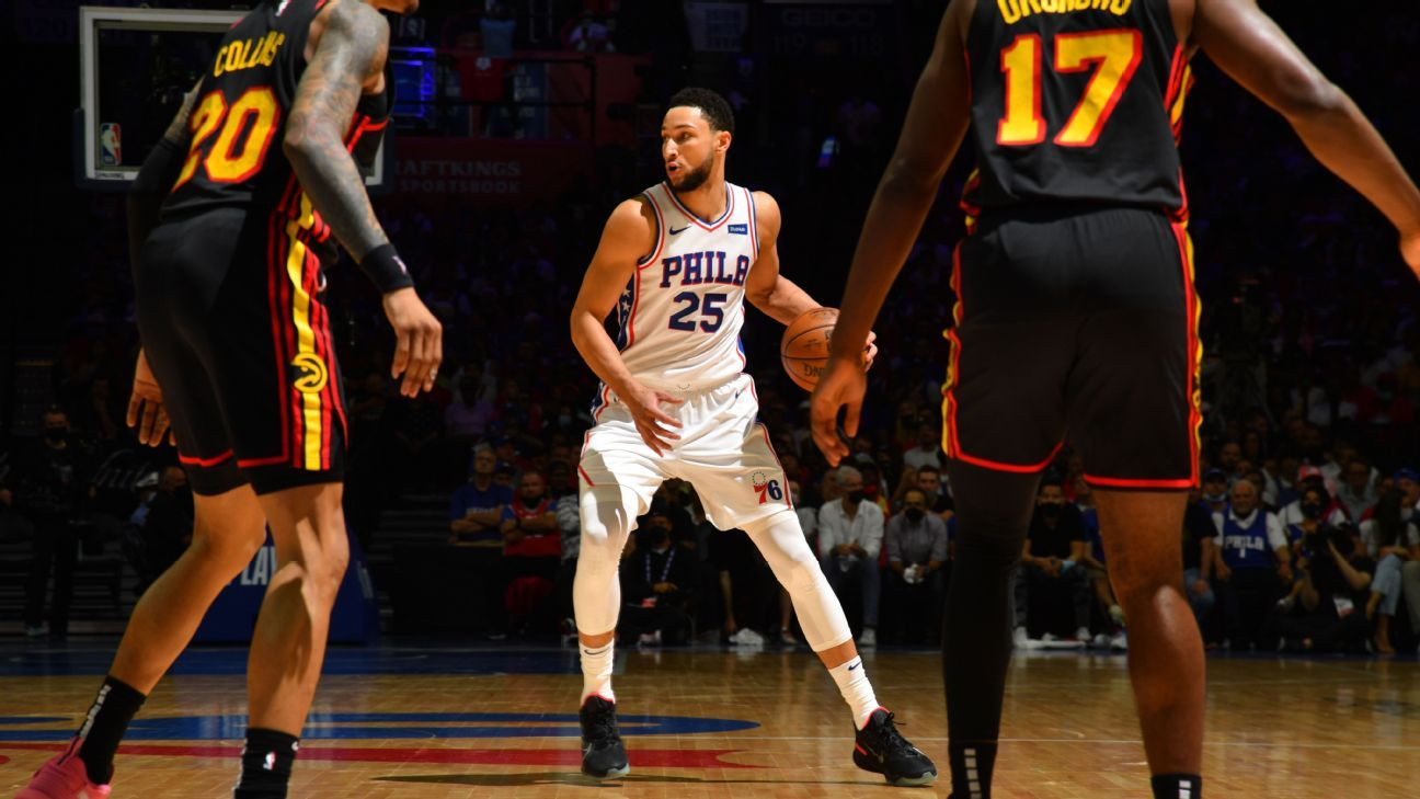 Ben Simmons shoulders blame after Philadelphia 76ers' second-round playoff exit - 'Offensively, I wasn't there' - ESPN