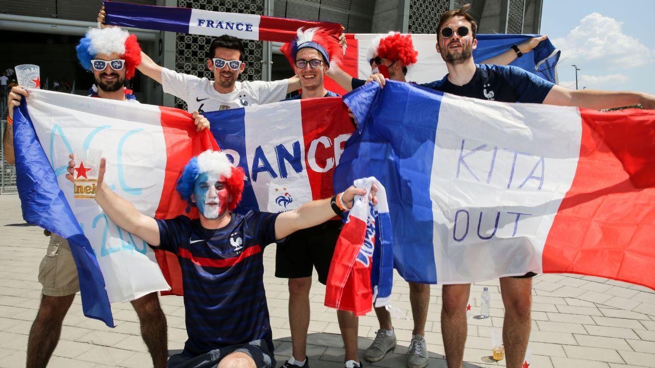 Seis aficionados franceses confunden Budapest con Bucarest y se pierden el Hungría-Francia