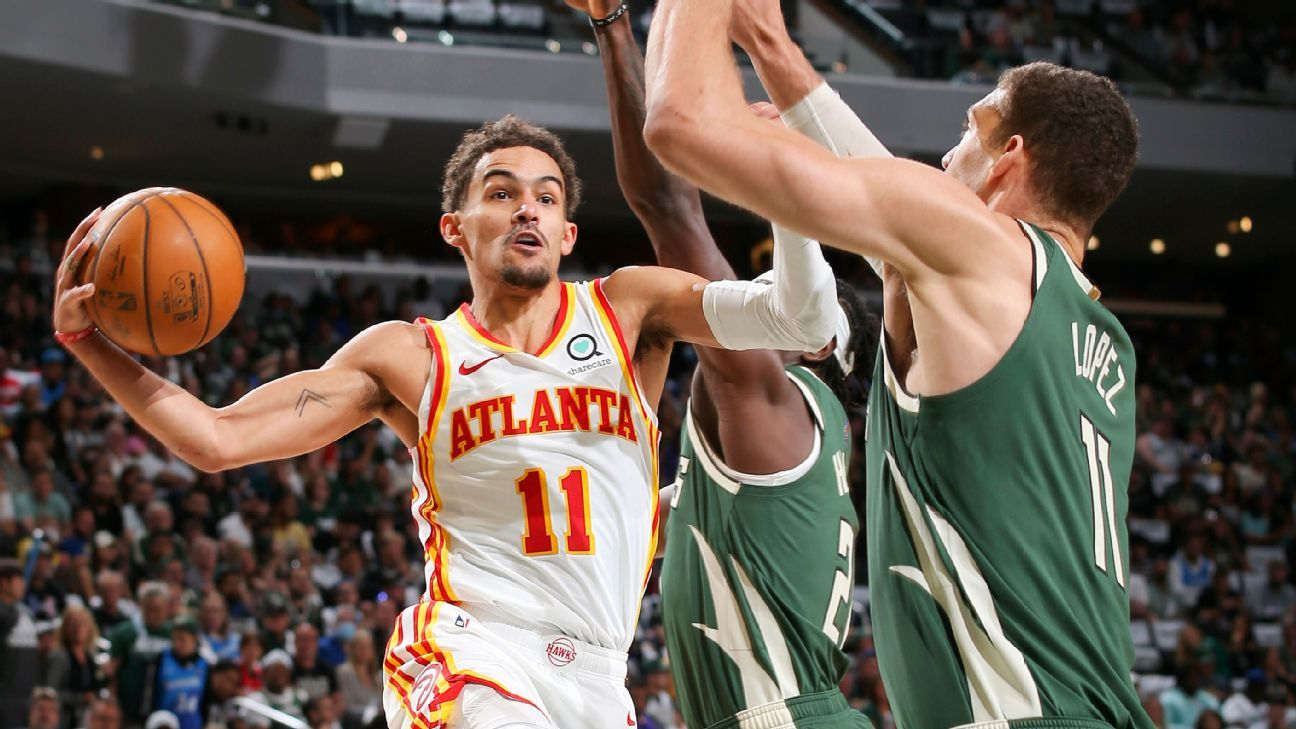Trae Young scores game-high 48 points in style leads Atlanta Hawks to Game 1 win – ESPN