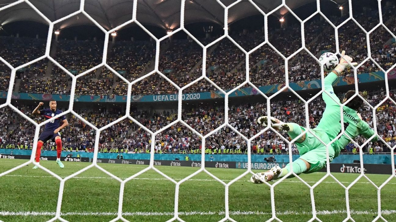 Switzerland's upset of France caps wild day at the Euros: How social media reacted