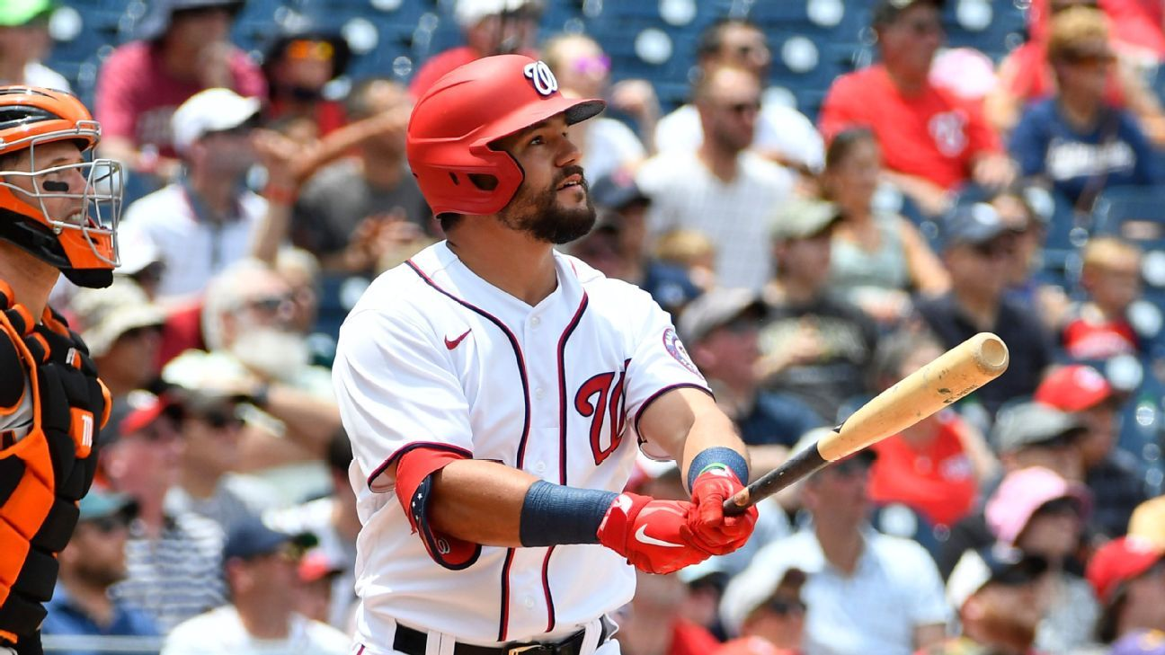 Boston Red Sox acquire All-Star outfielder Kyle Schwarber from Washington Nationals