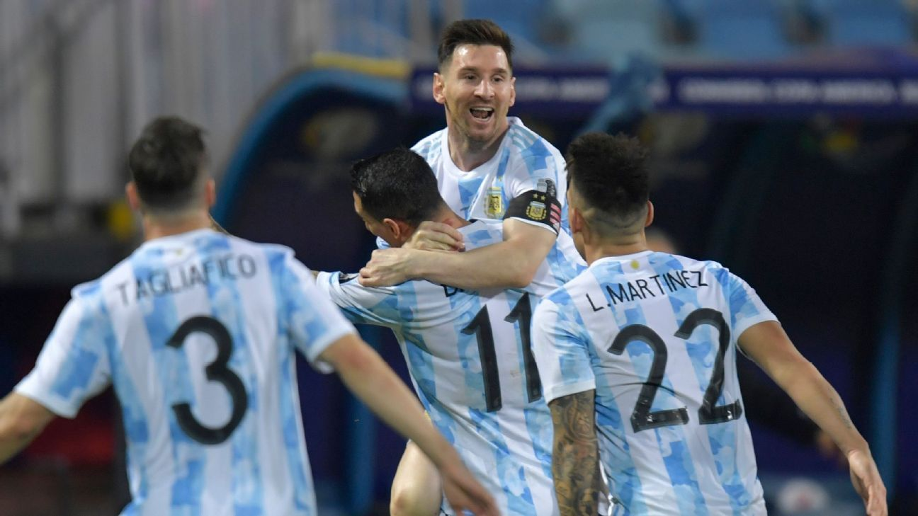Argentina-Brazil final is possible, but more Messi magic may be needed