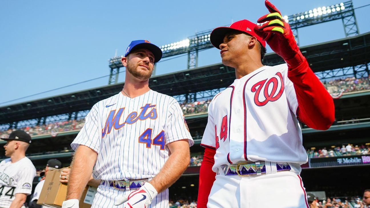 MLB's elite sluggers swung for the fences at Coors Field thumbnail