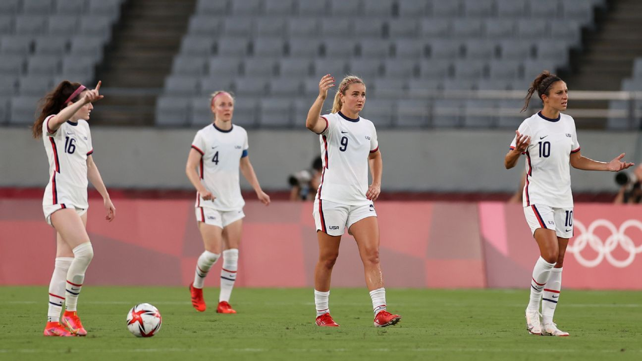 USWNT looked lost, confused as Sweden end unbeaten run