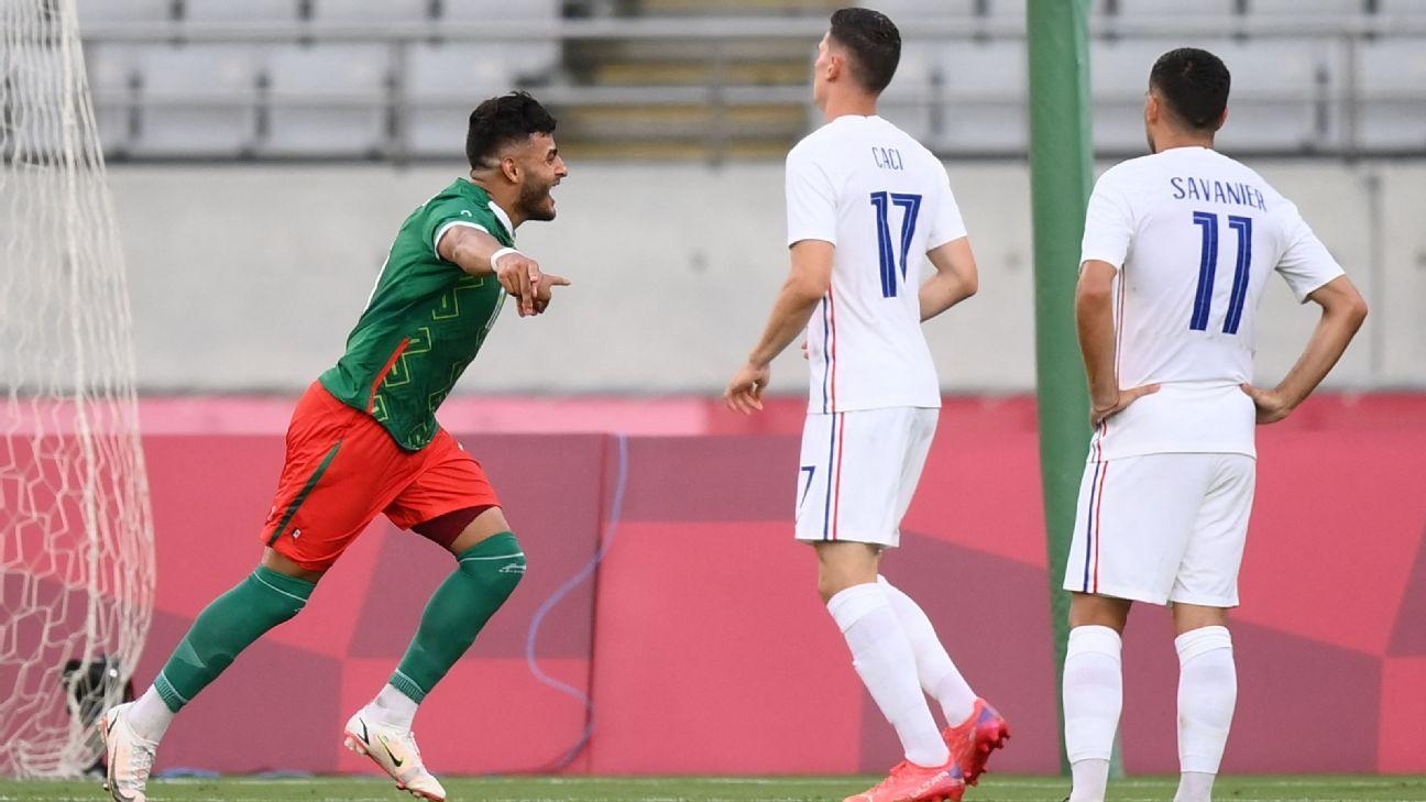 Mexico U23 vs. France U23 - Football Match Summary - July 22, 2021 - ESPN