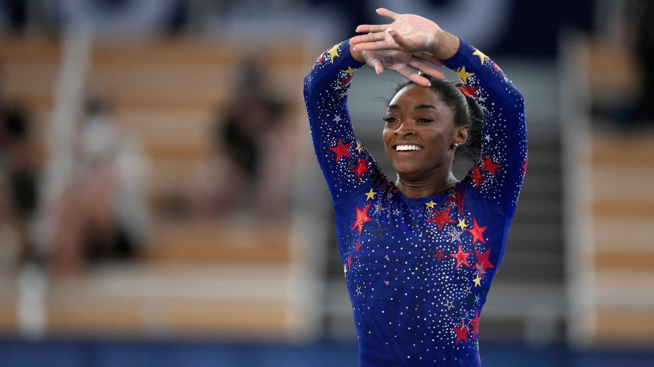 Olympic women's gymnastics live updates -- Simone Biles out as Team USA competes in team finals - ESPN