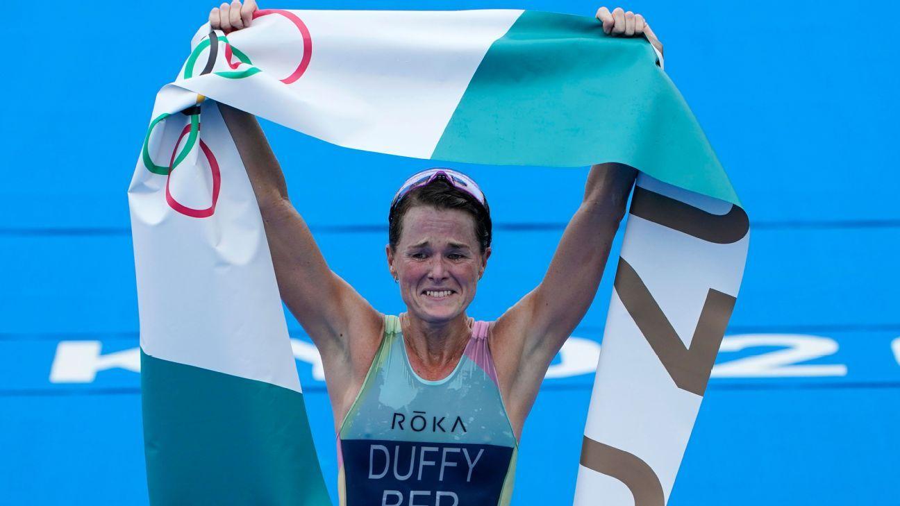 Duffy gives Bermuda first-ever gold at Olympics thumbnail