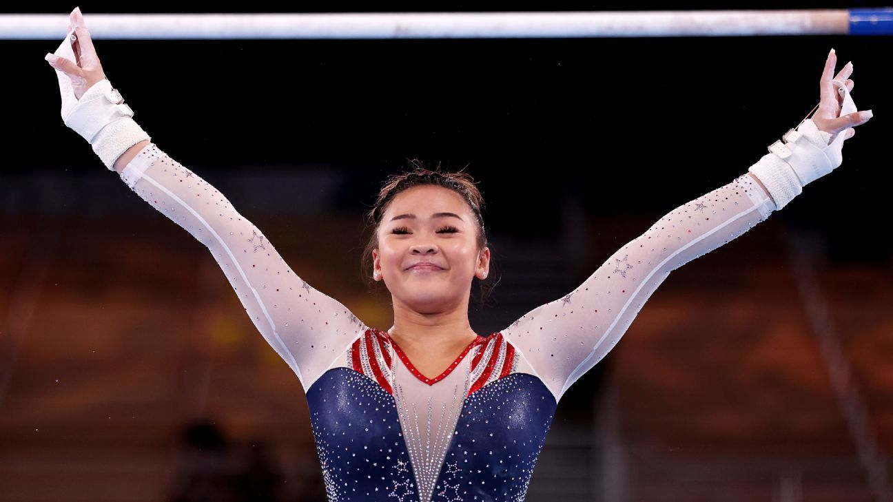 Olympic gymnastics live updates: Suni Lee, MyKayla Skinner and Jade Carey compete in event finals thumbnail