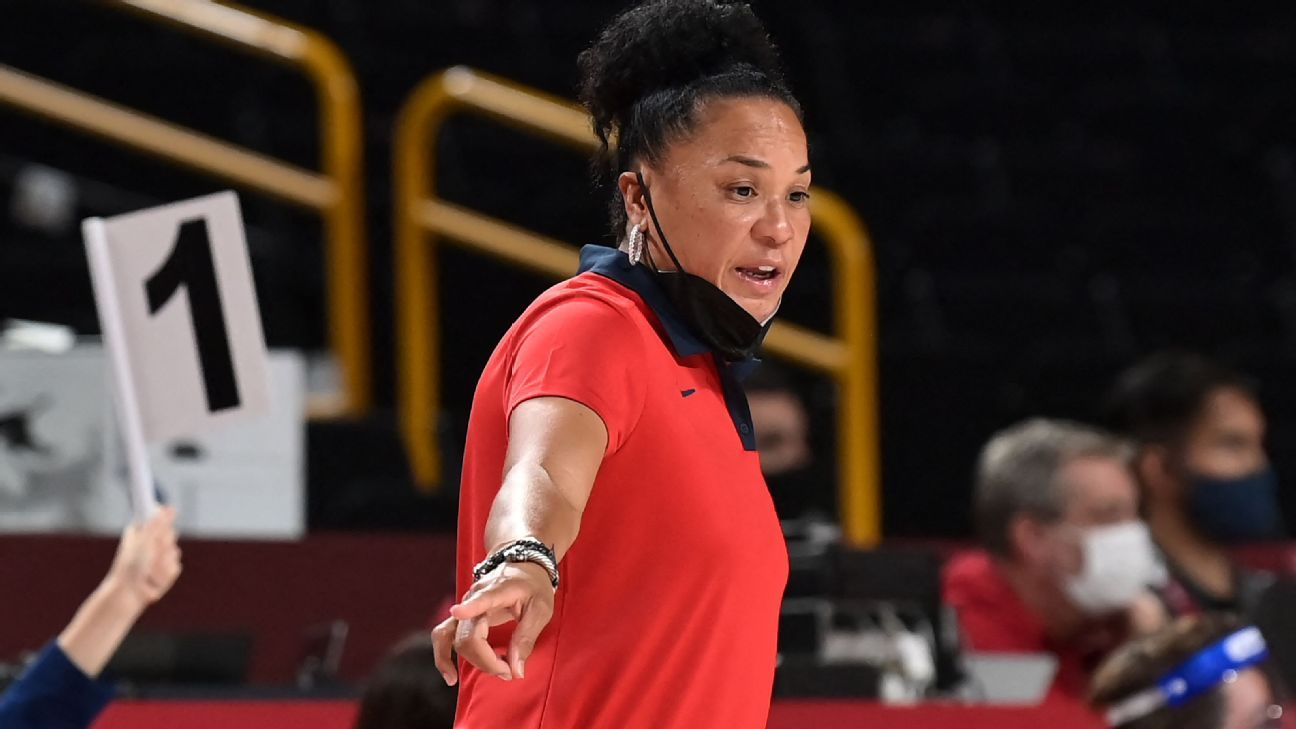 Staley says she's 'done' as U.S. women's coach thumbnail