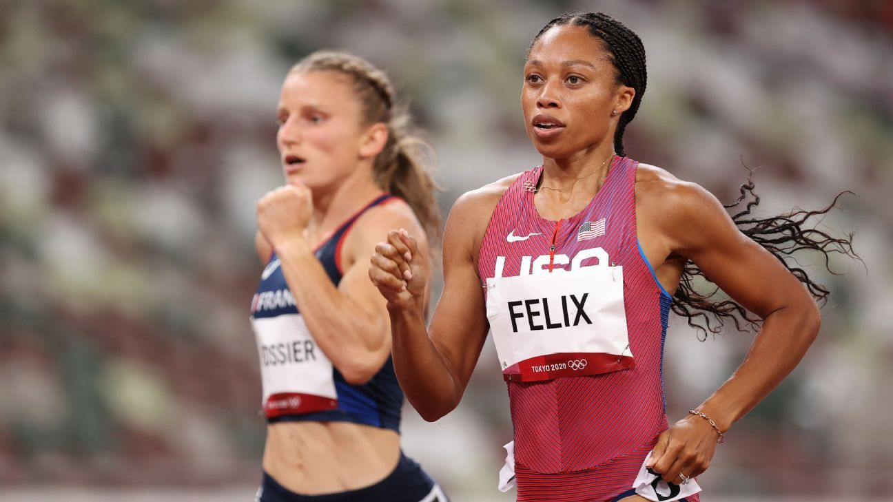 What you missed at the Olympics: Epic 200-meter final, Allyson Felix will race for gold, Sydney McLaughlin breaks own world record thumbnail