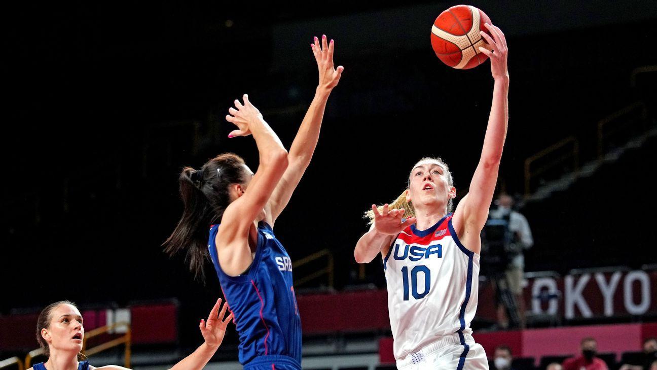 U.S. A-Team wins beach volleyball gold; USA women reach hoops finals and more from Tokyo