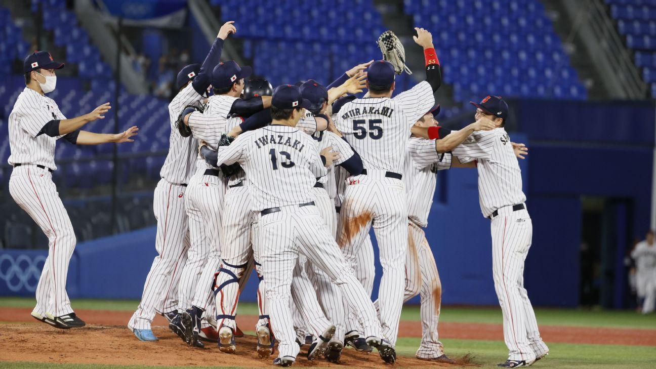 Japan blanks U.S. for 1st Olympic baseball gold thumbnail