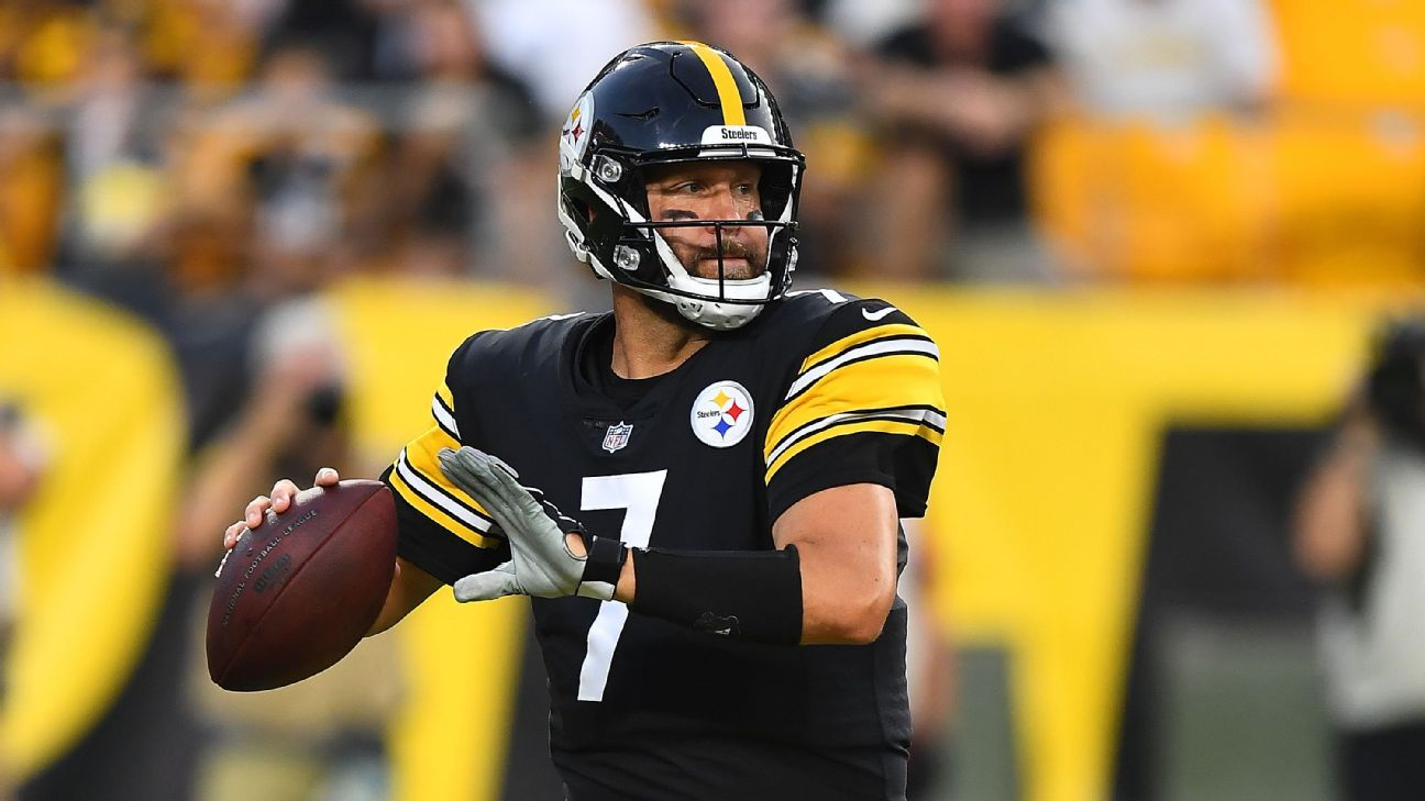 QB Ben Roethlisberger dealing with pectoral issue as injury list grows for Pittsburgh Steelers
