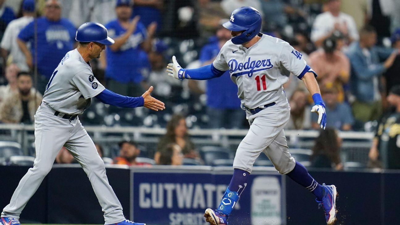 Los Angeles Dodgers outlast San Diego Padres in 16 innings behind AJ Pollock's 2-run homer