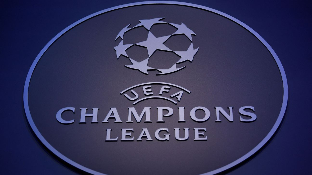 Champions League group stage draw