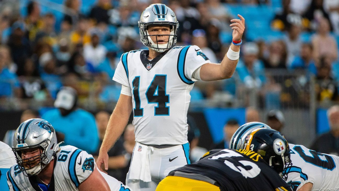 Sam Darnold starting to find himself in Carolina Panthers' offense