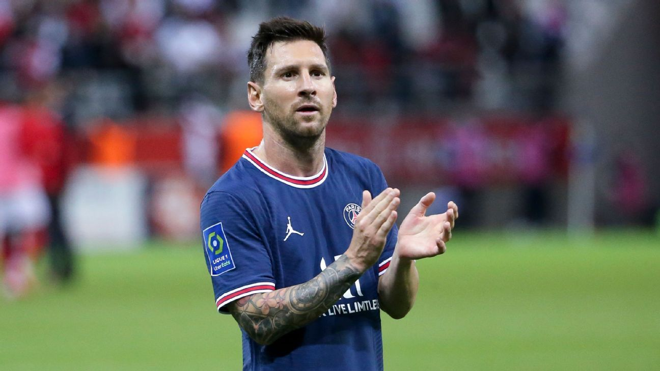 Messi's PSG debut breaks Spain viewing records