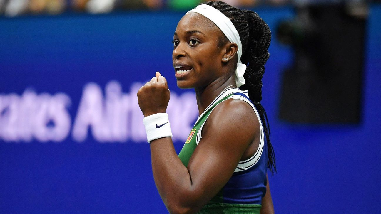 Sloane Stephens crashes Coco Gauff's US Open party