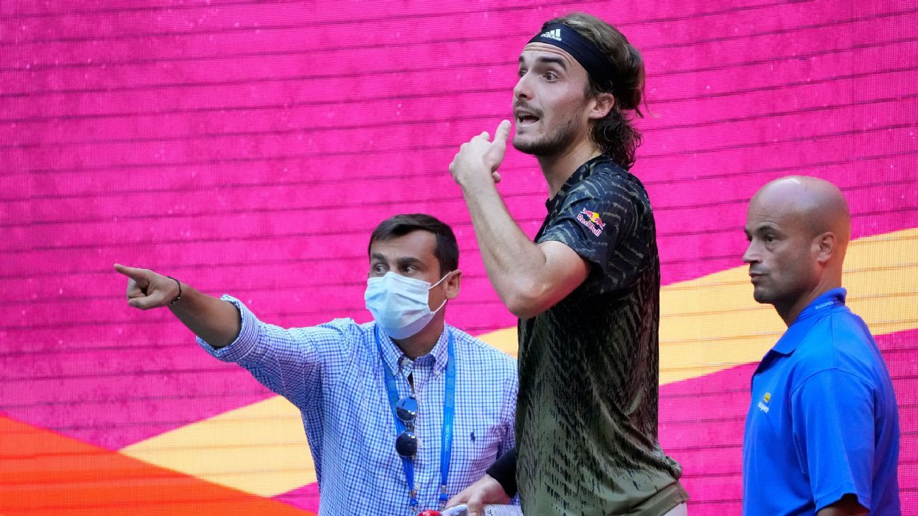 After exit, Stefanos Tsitsipas says 'no reason' for furor over his toilet breaks at US Open