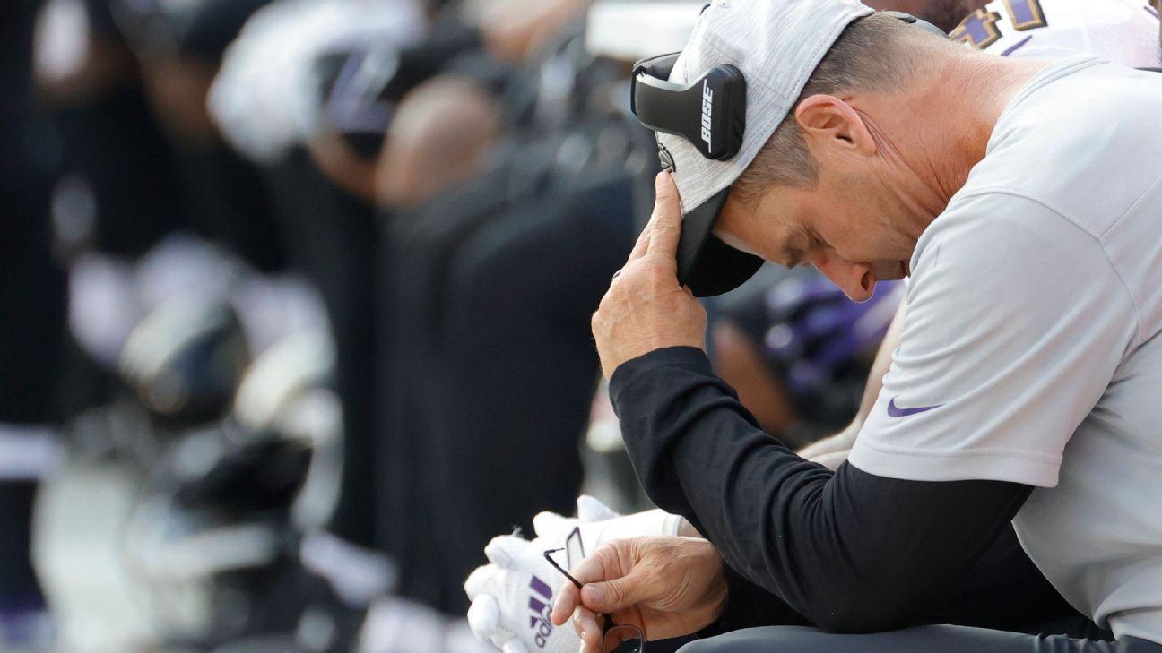 Brutal stretch of injuries, setbacks challenges Ravens as season opener nears