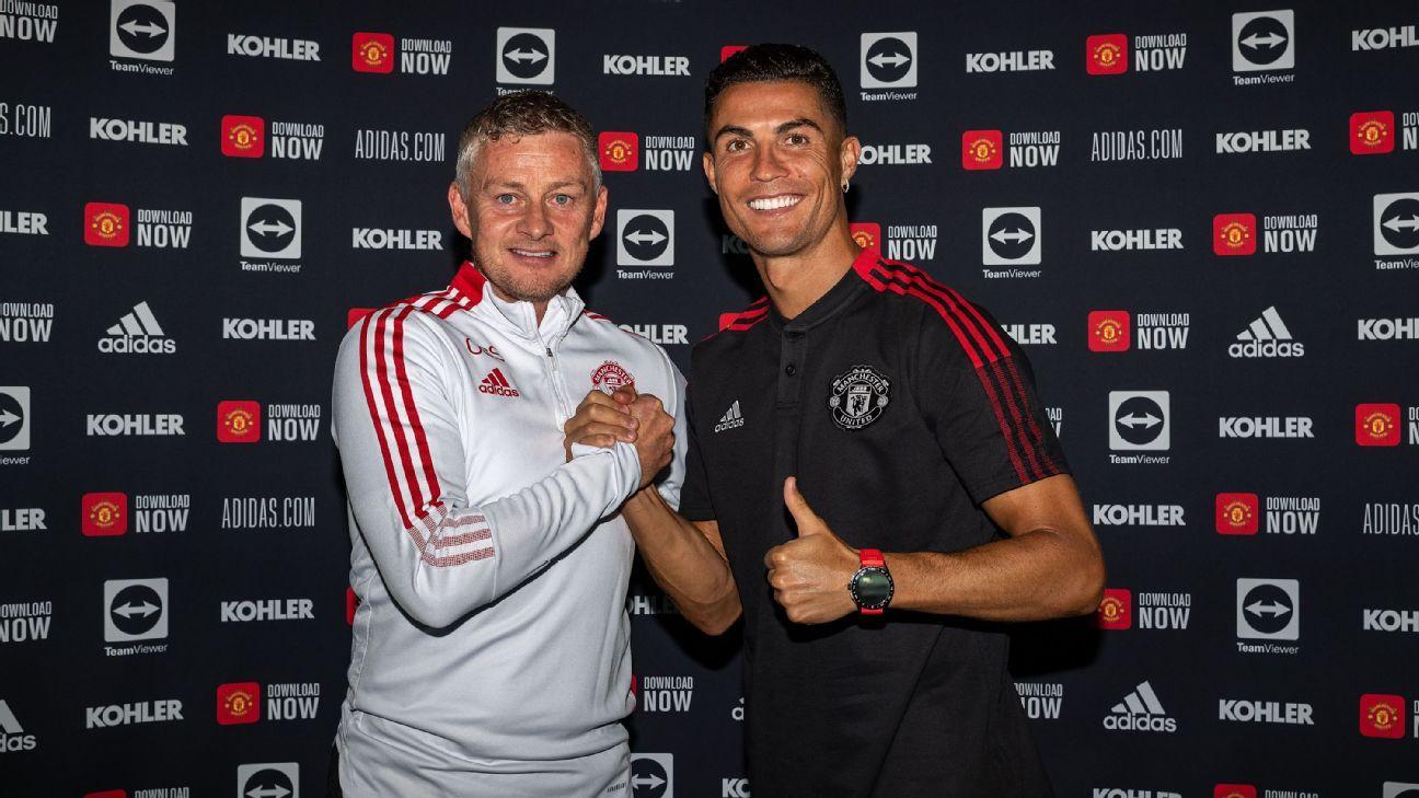 Solskjaer refuses to rule out Ronaldo start on Man United return