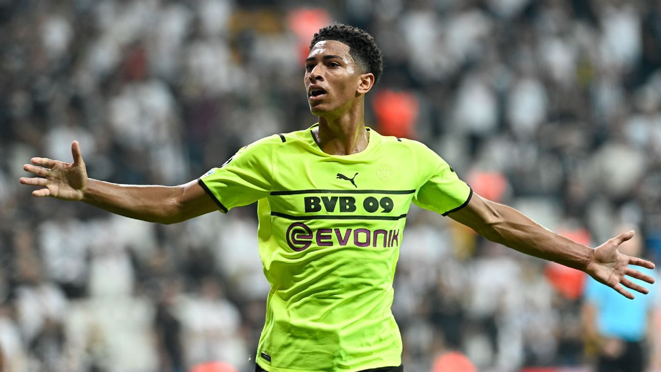 Transfer Talk: Man Utd have inside track for Dortmund's Jude Bellingham