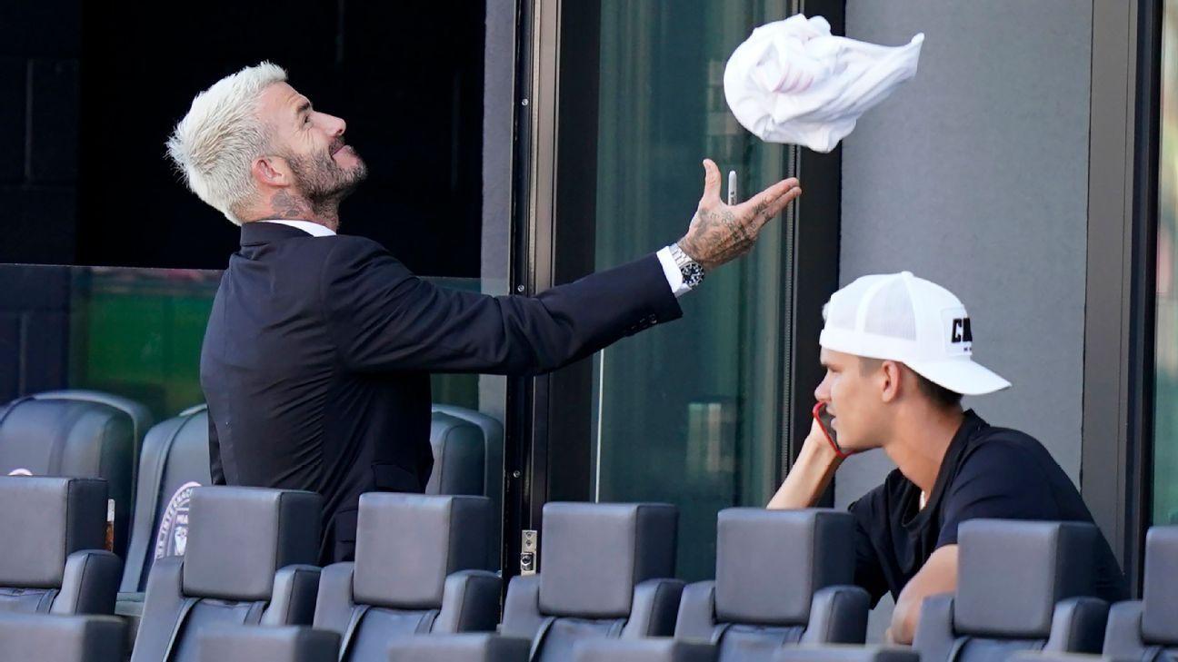 David Beckham pidió a técnico de su hijo que sea más duro con él que con los demás