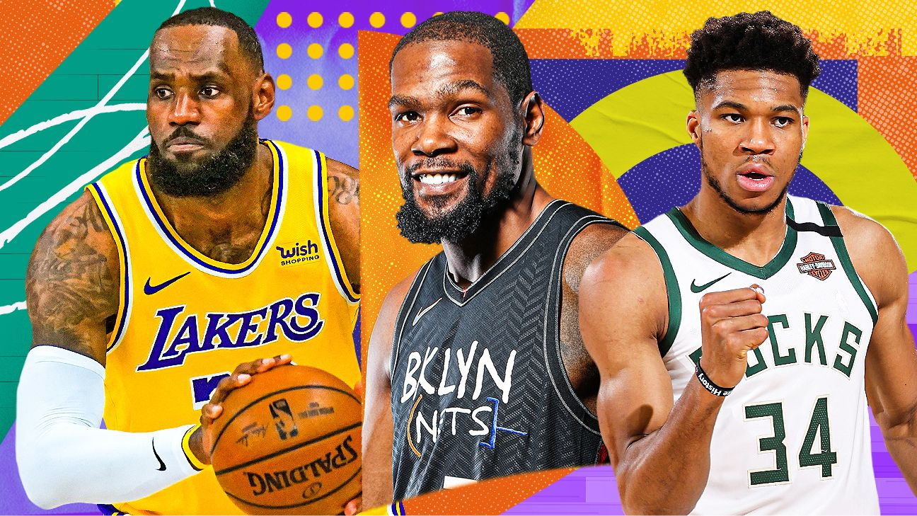 NBArank 2021: Ranking the best players for 2021-22, from 5 to 1