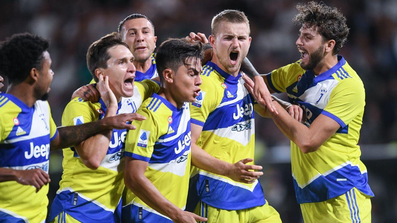 Cuadrado fue suplente en una Juventus que ante Spezia consiguió su primer triunfo de la Serie A: Salcedo entró al 85'