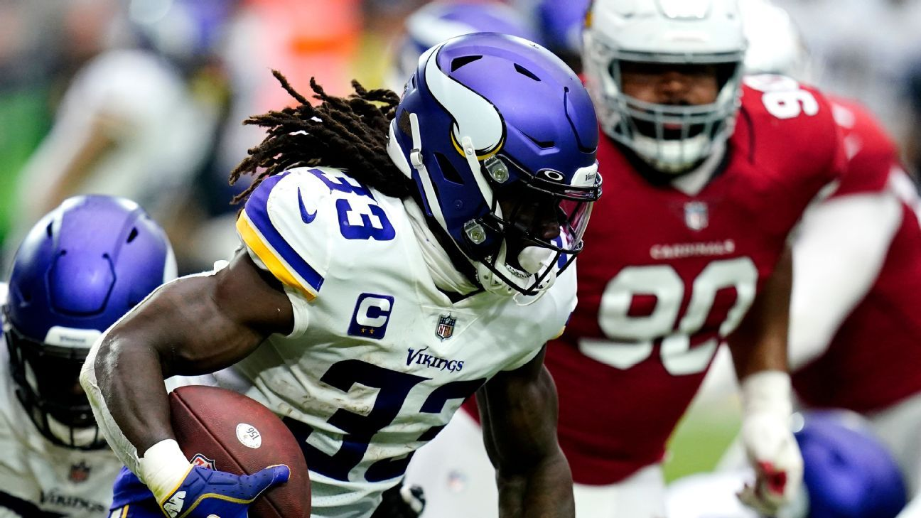 Source -- Minnesota Vikings' Dalvin Cook (ankle) unlikely for Sunday vs. Seattle Seahawks
