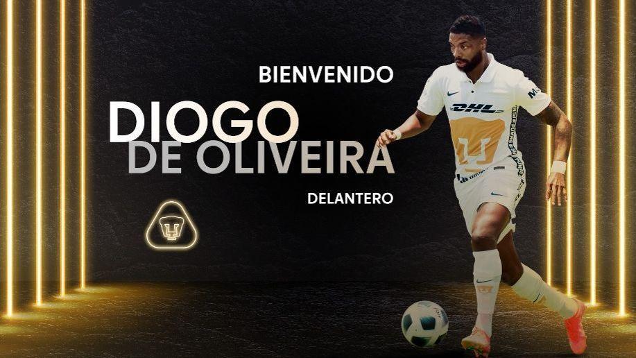 Supera Diogo de Oliveira exámenes y Pumas hace oficial su contratación
