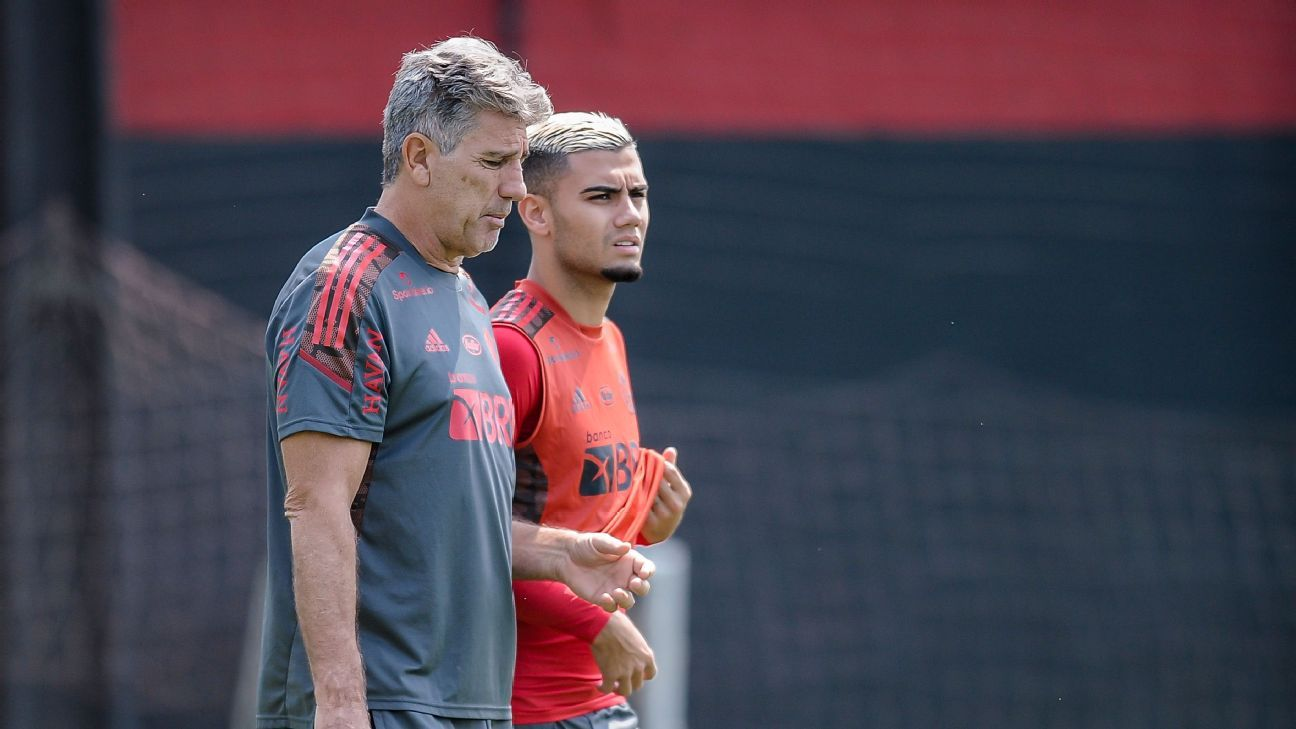 Rumo ao Equador, veja a prov�vel escala��o do Flamengo para enfrentar o Barcelona