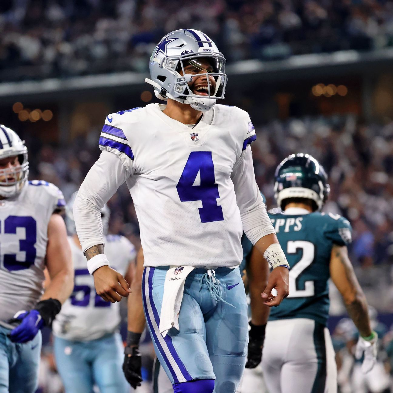 Dallas Cowboys QB Dak Prescott says he's playing at career-best level after 'special' return to AT&T Stadium