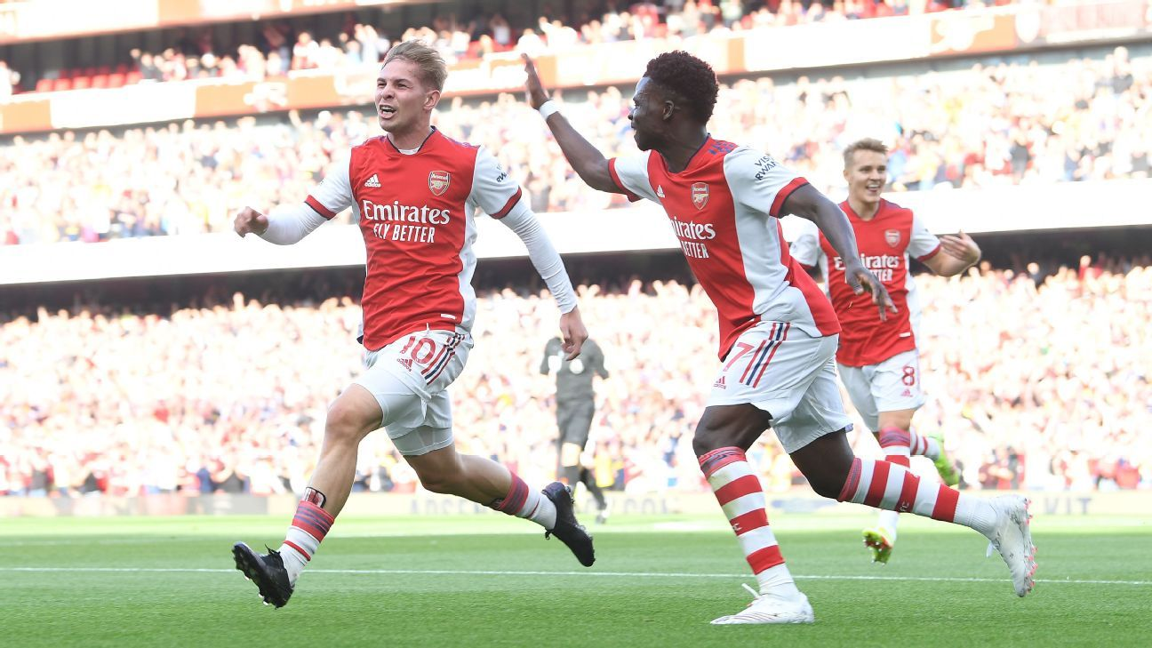 Arsenal and Barcelona ranked among Europe's youngest teams