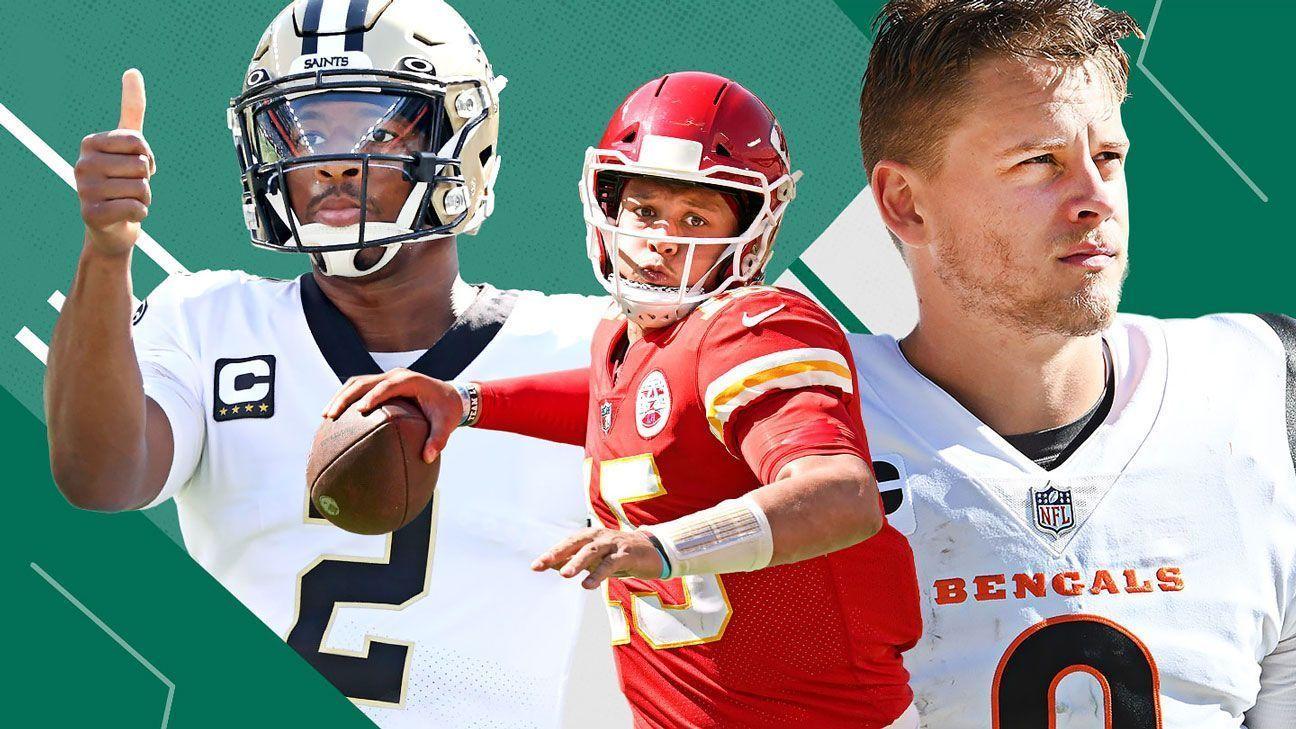 Los Power Rankings de la NFL, al término de la Semana 3