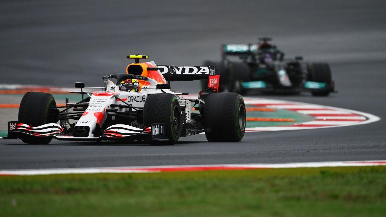 F1: No cualquiera detiene a Hamilton... Checo Pérez y su heroica defensa turca fue un alarde de manejo