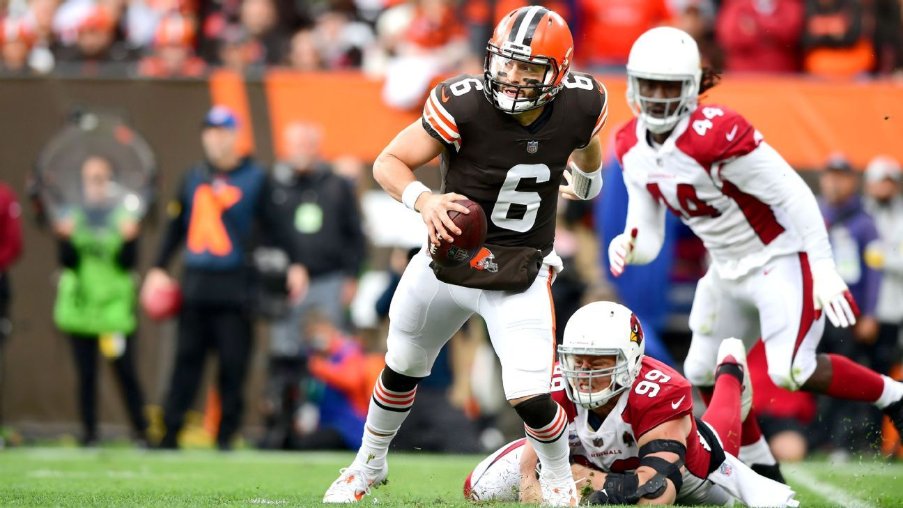 Cleveland Browns QB Baker Mayfield says shoulder has fracture in addition to torn labrum