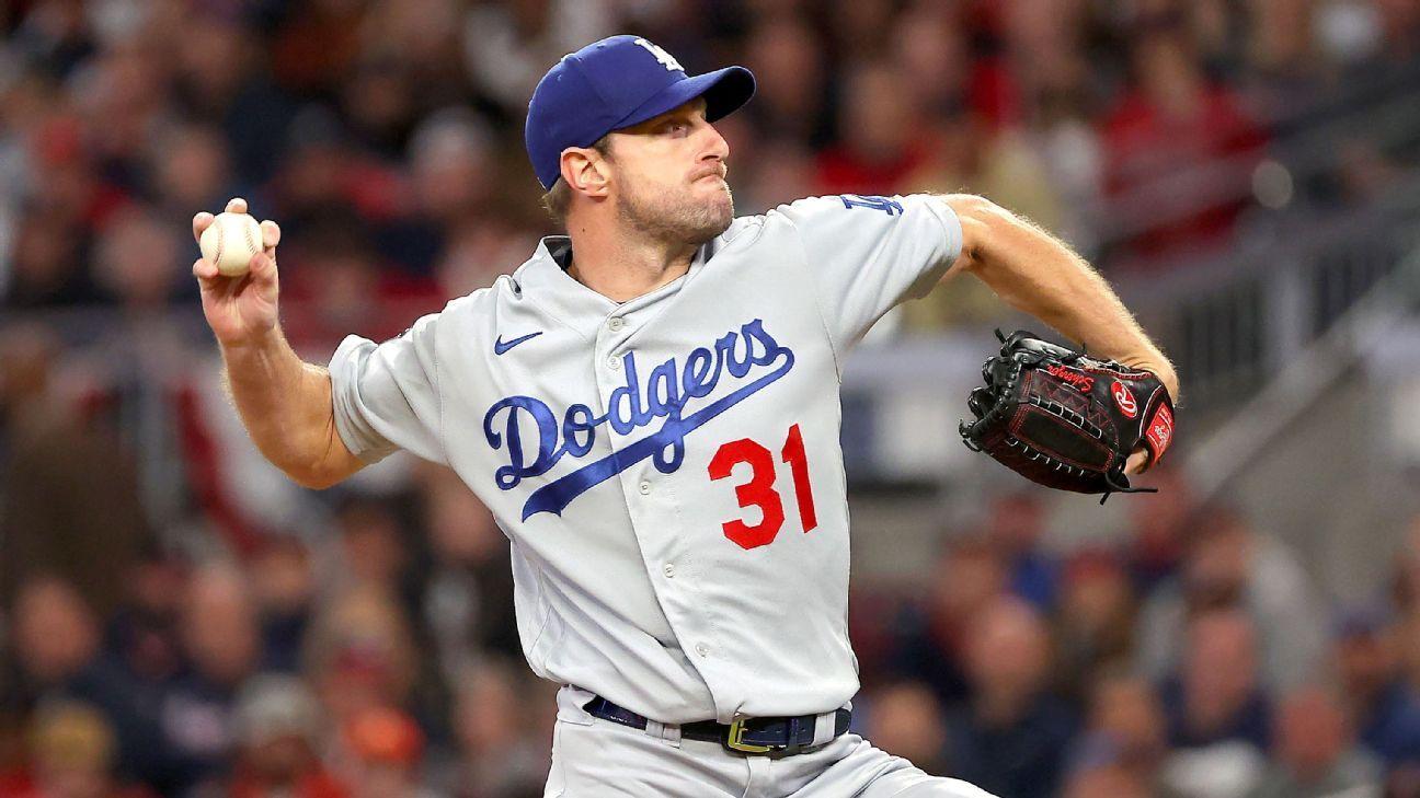 Sources: Dodgers' Scherzer won't start Game 6
