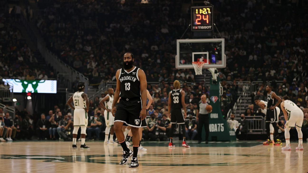 James Harden, after opting not to sign extension with Brooklyn Nets before deadline, says 'I don't plan on leaving'