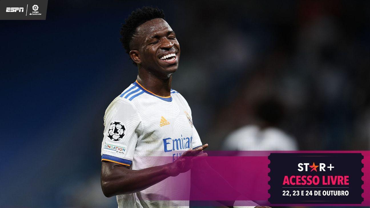 Vinicius Jr. diz como lida com críticas exageradas no Real Madrid e explica por que trabalho até de madrugada o ajuda a viver grande fase
