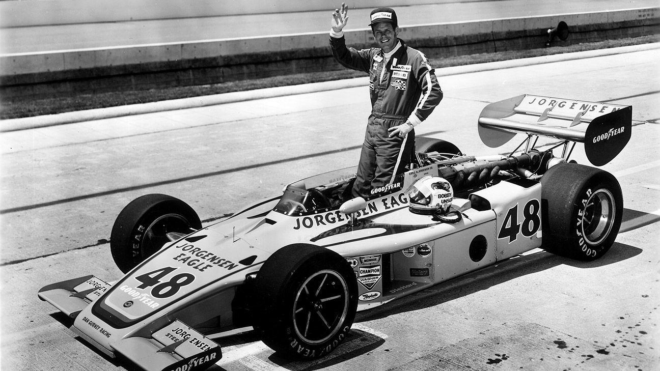 Three-time Indy 500 winner Bobby Unser dies