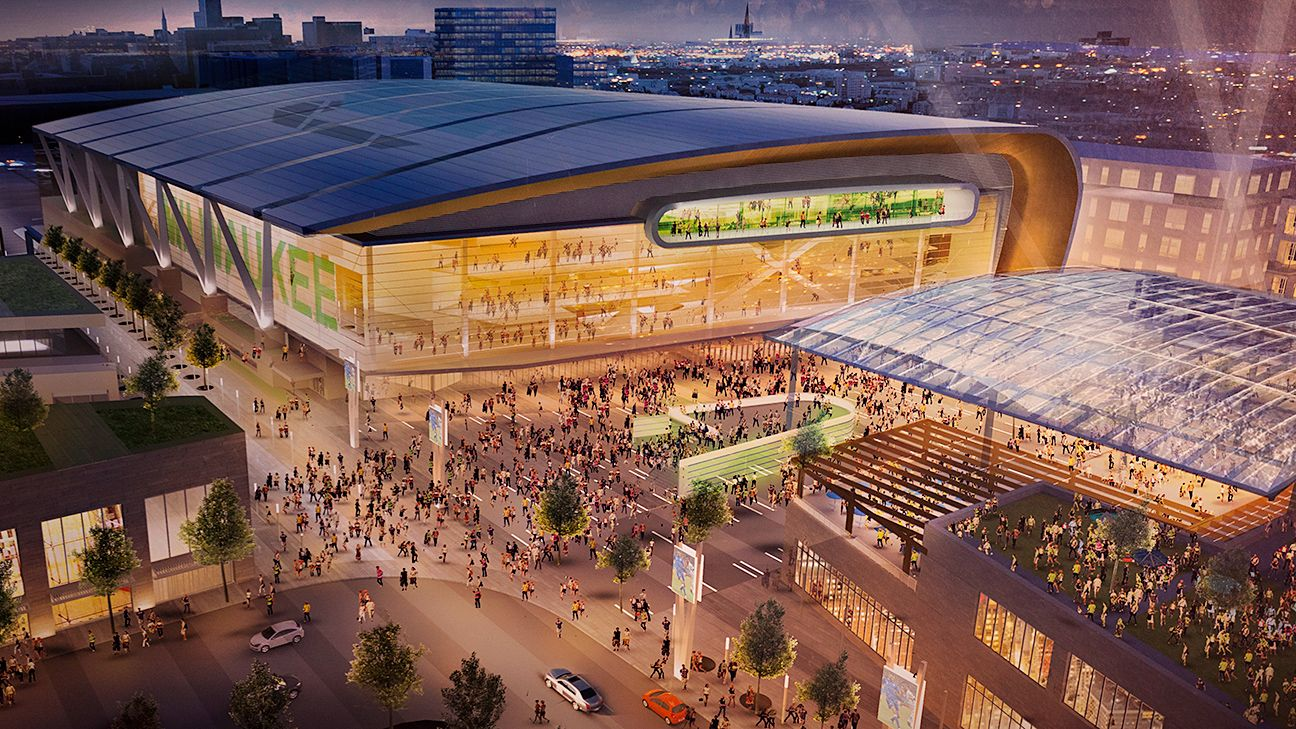Groundbreaking set for new Milwaukee Bucks arena