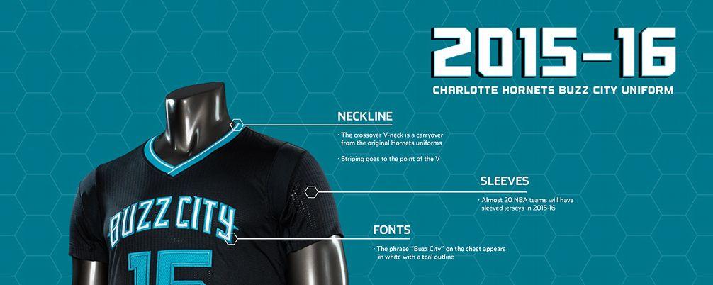 quality design e8655 0c3d8 Charlotte Hornets Unveil New Black