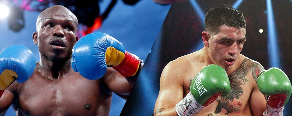 Picture of Tim Bradley Jr. on the left and Brandon Rios on the right.