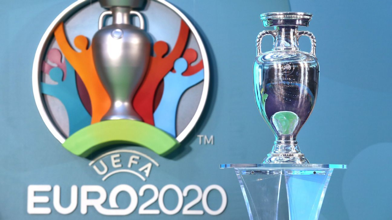 Ukraine shock Euro 2020 draw seeds ahead of France and Portugal