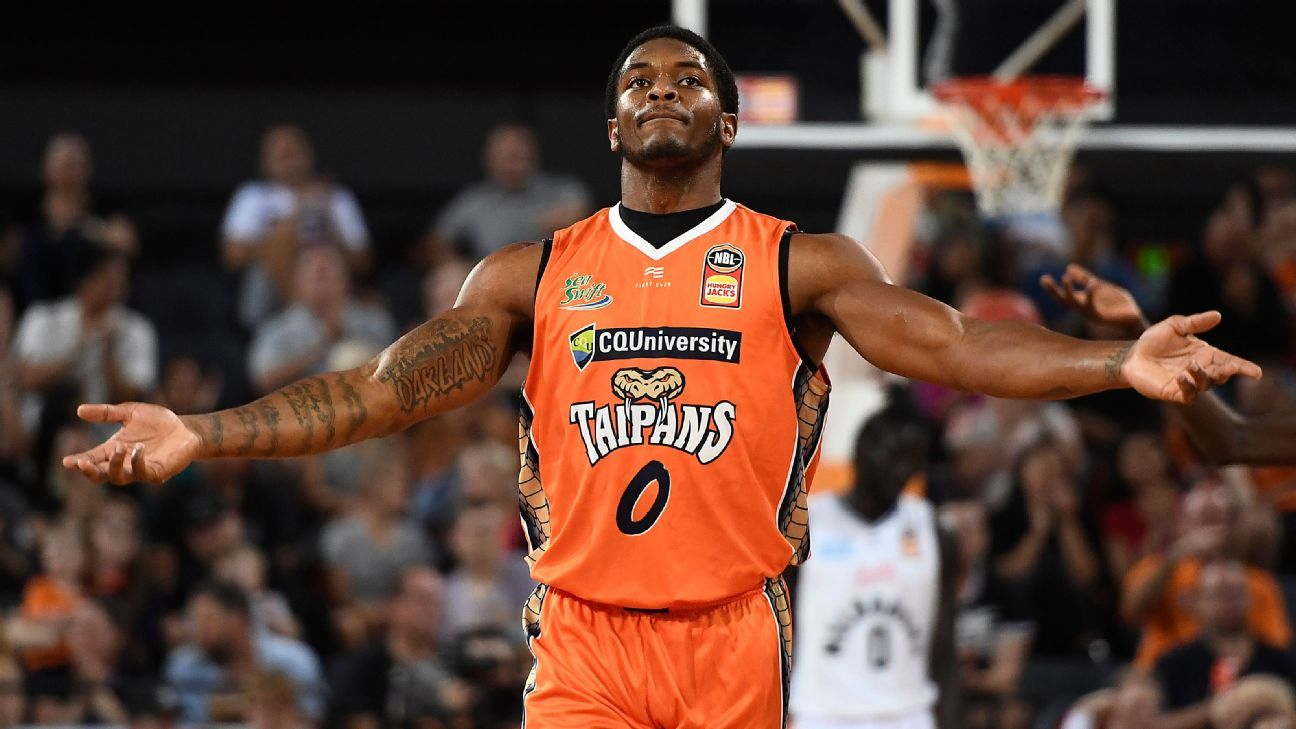 NBL Cairns Taipans re-sign star import Cameron Oliver