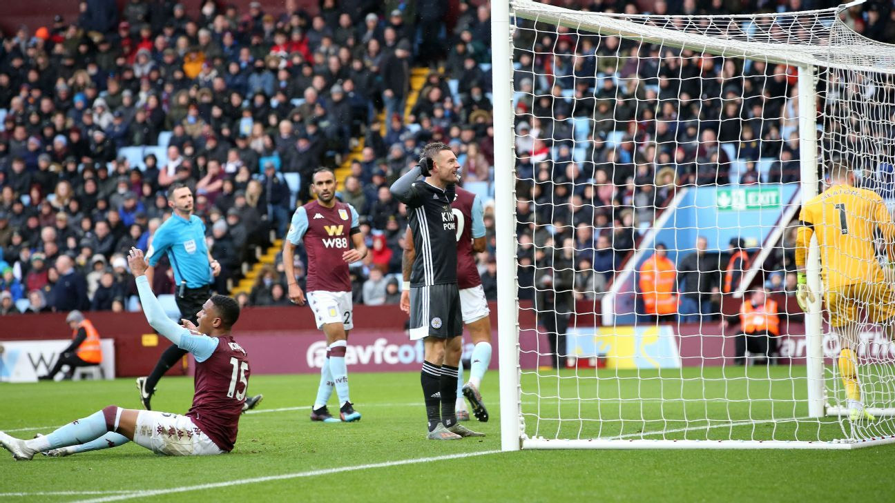 BPL (2019-2020) Report: Leicester cruise past Aston Villa to open six-point lead over Man City