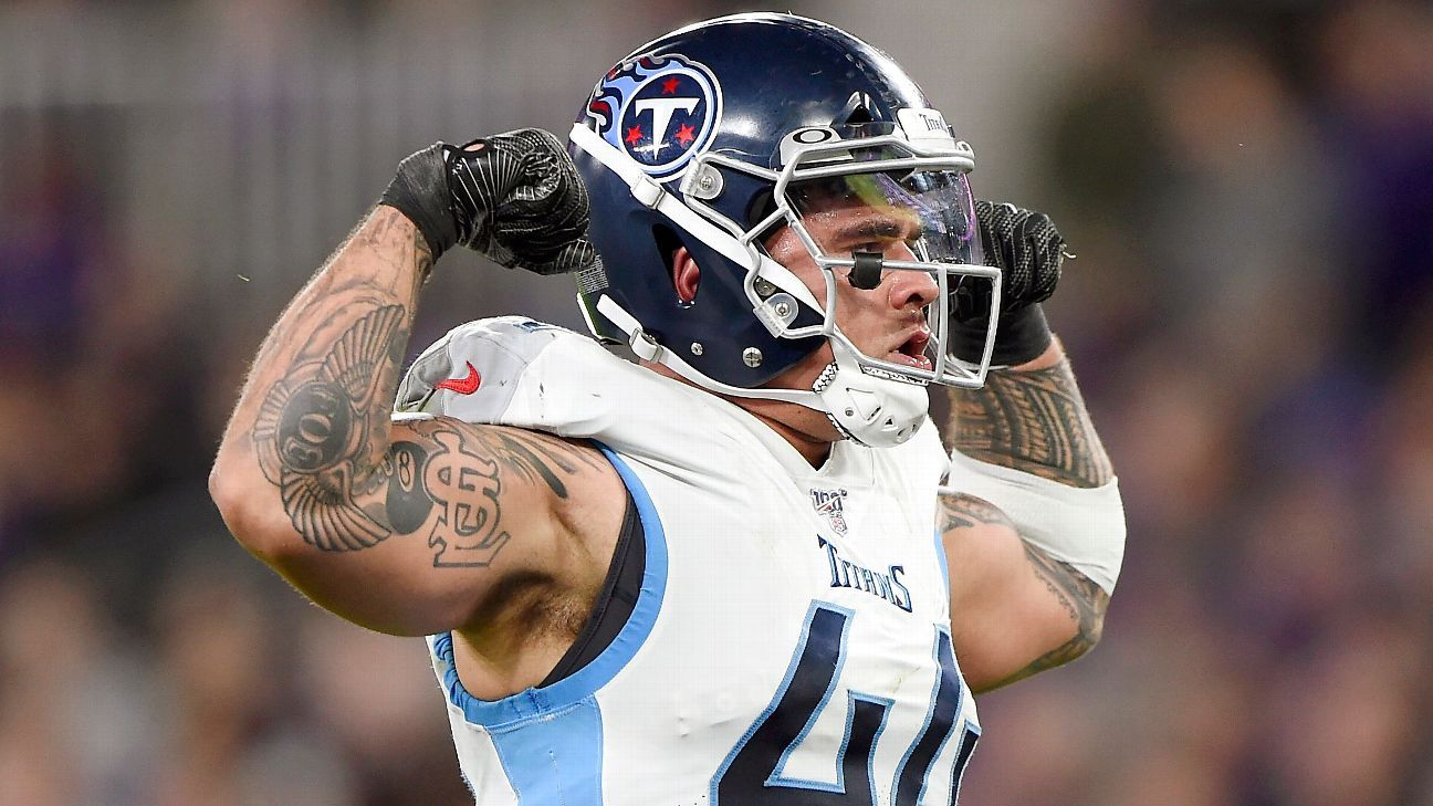 Unhappy LB Correa traded by Titans to Jaguars