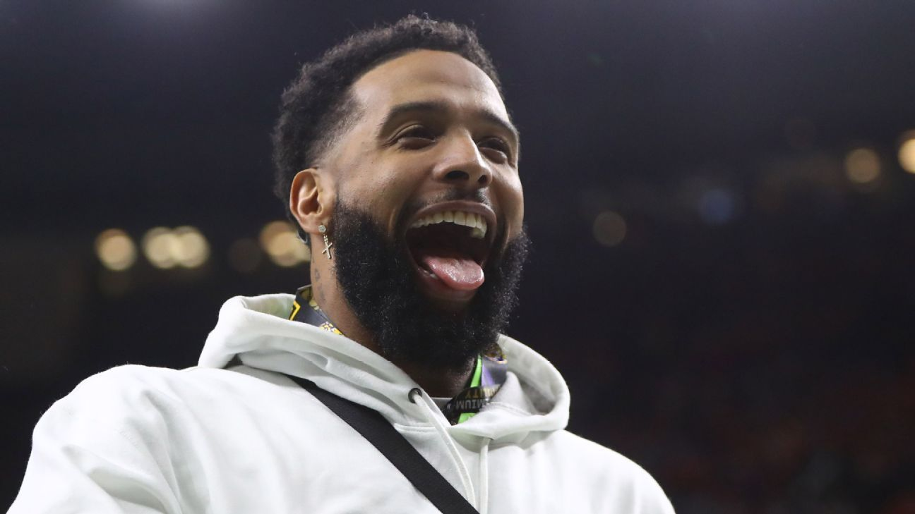 Cop slapped by Odell Beckham Jr. no longer pursuing charges