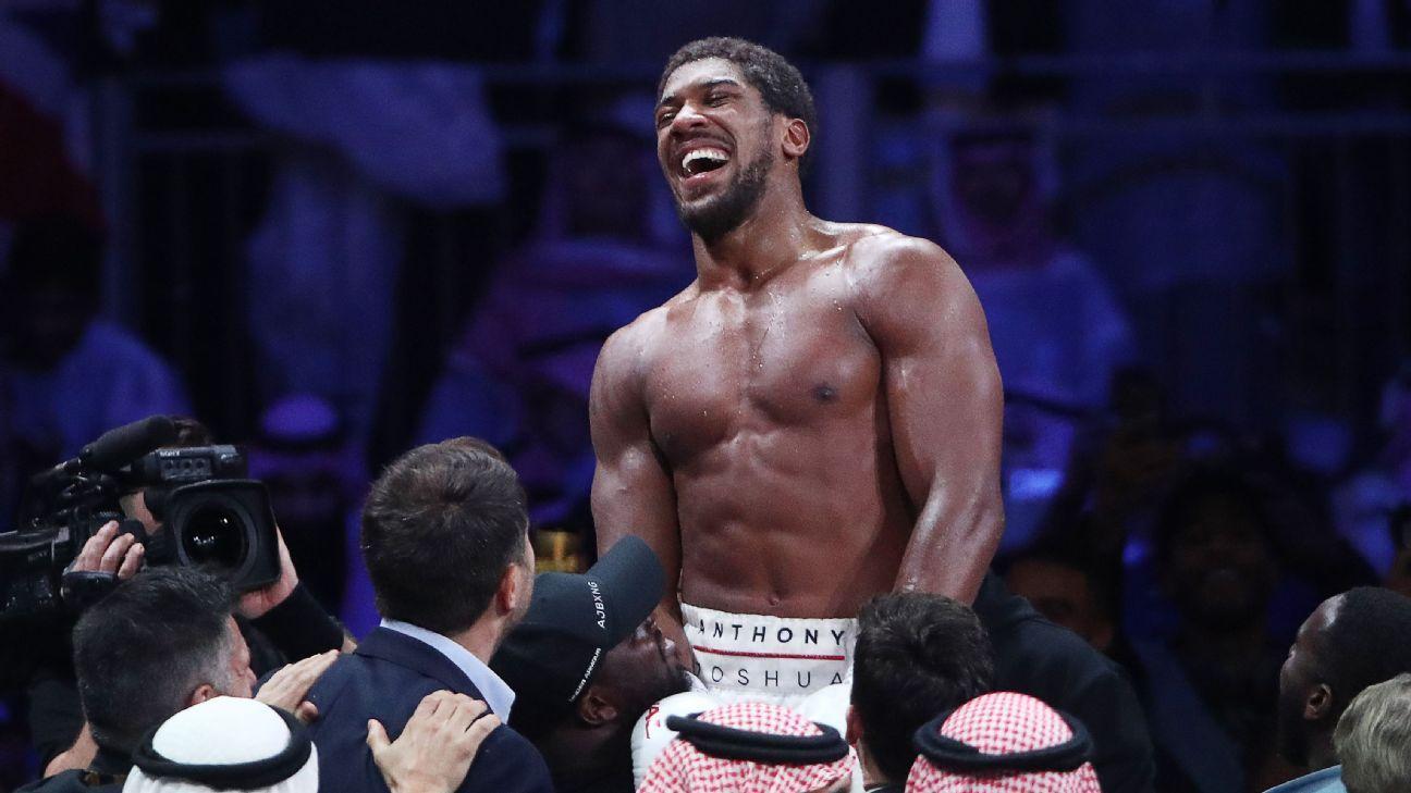 Joshua would be 'underdog' in Fury unification bout #Sportskeedi
